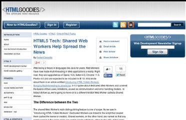 http://www.htmlgoodies.com/HTML5/other/html5-tech-shared-web-workers-help-spread-the-news.html#fbid=uN0a_erXPKQ