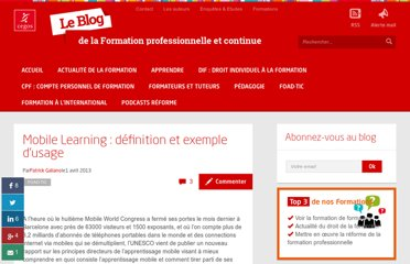 http://www.formation-professionnelle.fr/2013/04/01/definition-et-exemple-dusage-de-mobile-learning/