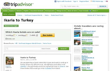http://www.tripadvisor.com/ShowTopic-g189477-i13541-k6207210-Ikaria_to_Turkey-Ikaria_Northeast_Aegean_Islands.html
