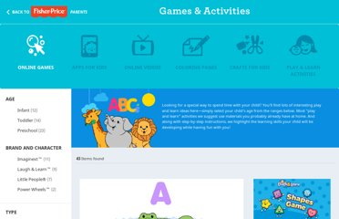 http://www.fisher-price.com/en_US/gamesandactivities/onlinegames/index.html
