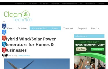 http://cleantechnica.com/2011/06/28/hybrid-wind-solar-power-generators-for-homes-businesses/#gsc.tab=0