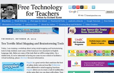 http://www.freetech4teachers.com/2012/10/ten-terrific-mind-mapping-and.html#.UVr3ltGI70O