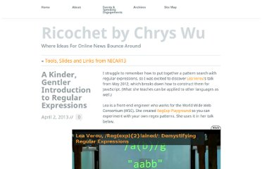http://www.chryswu.com/blog/2013/04/02/a-kinder-gentler-introduction-to-regular-expressions/