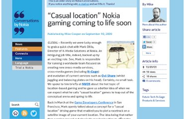 http://conversations.nokia.com/2009/09/10/casual-location-nokia-gaming-coming-to-life-soon/