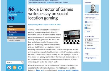 http://conversations.nokia.com/2009/04/09/nokia-director-of-games-writes-essay-on-social-location-gaming/