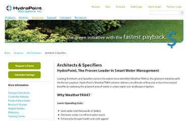 http://www.hydropoint.com/wordpress/solutions-for/key-users/architects-specifiers/