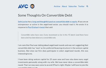 http://www.avc.com/a_vc/2010/08/some-thoughts-on-convertible-debt.html