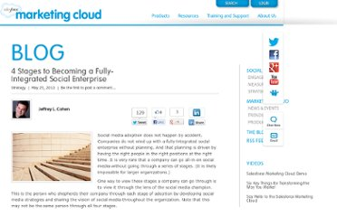 http://www.salesforcemarketingcloud.com/blog/2012/05/4-stages-to-becoming-a-fully-integrated-social-enterprise/