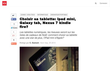 http://suite101.fr/article/choisir-sa-tablette-ipad-mini-galaxy-tab-nexus-7-kindle-fire-a35856#axzz2OlsFiGrO