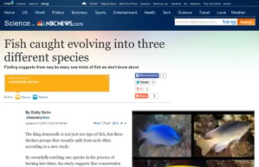 http://www.nbcnews.com/id/35184122/ns/technology_and_science-science/t/fish-caught-evolving-three-different-species/#.UVvHOtGI70M