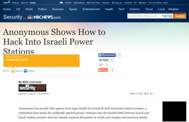 http://www.nbcnews.com/id/45974426/ns/technology_and_science-security/t/anonymous-shows-how-hack-israeli-power-stations/#.UVvrg9GI70N