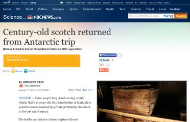 http://www.nbcnews.com/id/41122315/ns/technology_and_science-science/t/century-old-scotch-returned-antarctic-trip/#.UVvsQNGI70M