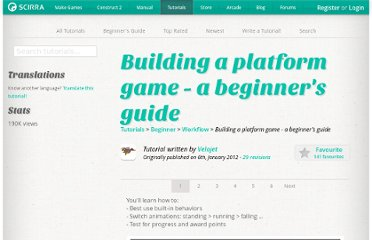 https://www.scirra.com/tutorials/243/building-a-platform-game-a-beginners-guide#comments