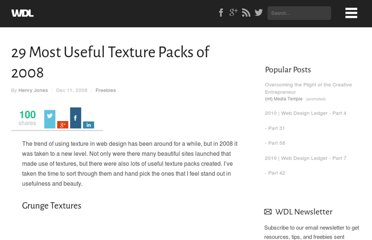 http://webdesignledger.com/freebies/29-most-useful-texture-packs-of-2008