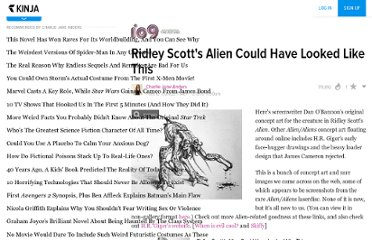 http://io9.com/5475322/ridley-scotts-alien-could-have-looked-like-this