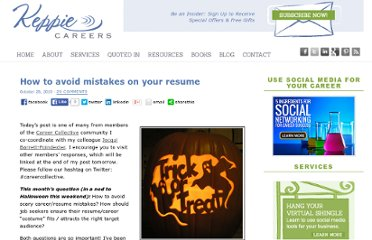 http://www.keppiecareers.com/how-to-avoid-mistakes-on-your-resume/