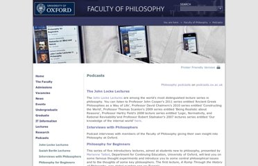 http://www.philosophy.ox.ac.uk/podcasts