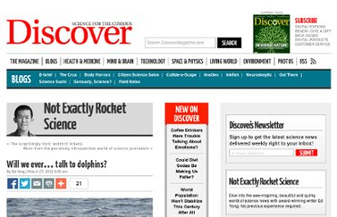 http://blogs.discovermagazine.com/notrocketscience/2012/03/27/will-we-ever-talk-to-dolphins/#.UVy0u9GI70M