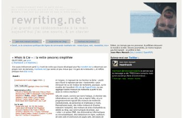http://rewriting.net/2005/07/06/whois-and-cie-la-veille-simplifiee/