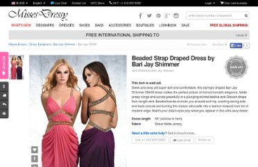 http://www.missesdressy.com/beaded-strap-draped-dress-bari-shimmer-p-19089.html