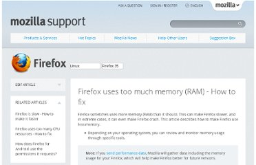 https://support.mozilla.org/en-US/kb/firefox-uses-too-much-memory-ram#w_disabling-memory-consuming-plugins