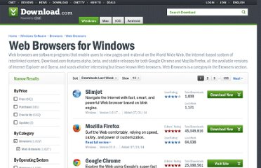 http://download.cnet.com/windows/web-browsers/?tag=404