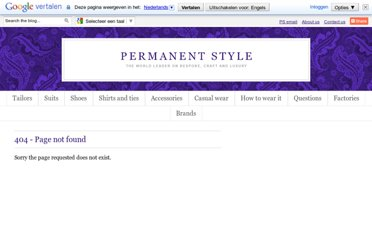 http://www.permanentstyle.co.uk/search?updated-max=2009-12-01T02:24:00-08:00&max-results=6#.UV0y7tGI70M