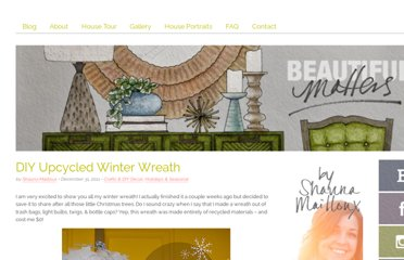 http://www.beautifulmatters.com/2011/12/diy-upcycled-winter-wreath/