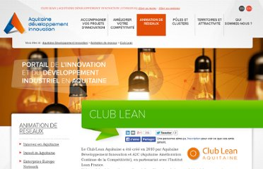http://www.aquitaine-developpement-innovation.com/club-lean.html#.UV1r1tGI70N