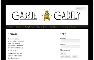 http://gabrielgadfly.com/poetry/threads/