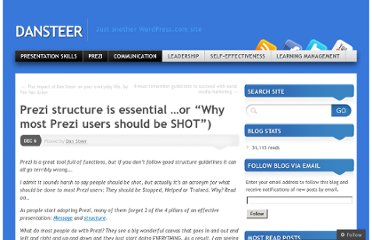 http://dansteer.wordpress.com/2012/12/06/prezi-structure-tips/