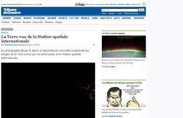 http://www.tdg.ch/culture/La-Terre-vue-de-la-Station-spatiale-internationale/story/17975859