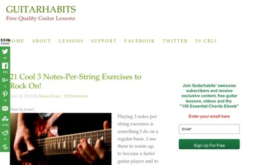 http://www.guitarhabits.com/21-cool-3-notes-per-string-exercises-to-rock-on/