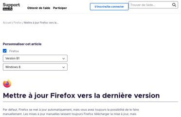 https://support.mozilla.org/fr/kb/mettre-jour-firefox-derniere-version
