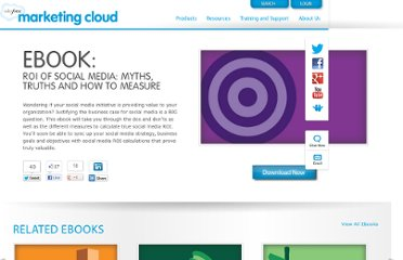 http://www.salesforcemarketingcloud.com/resources/ebooks/roi-of-social-media-myths-truths-and-how-to-measure/