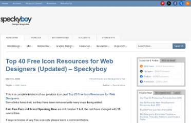 http://speckyboy.com/2008/03/04/top-40-free-icon-resources-for-web-designers-updated-speckyboy/
