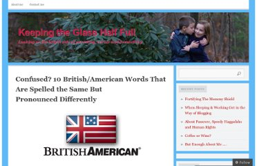http://samanthamcgarry.com/2012/03/30/confused-10-britishamerican-words-that-are-spelled-the-same-but-pronounced-differently/