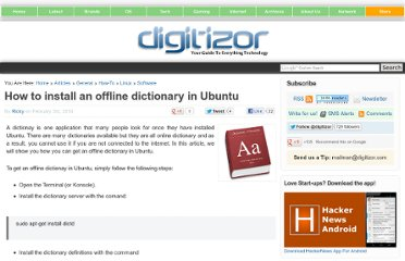 http://digitizor.com/2010/02/03/how-to-install-an-offline-dictionary-in-ubuntu-2/