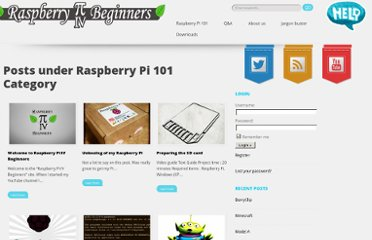 http://pibeginners.com/category/raspberry-pi-101/