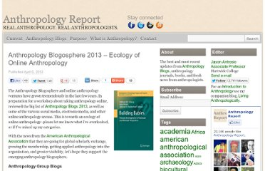 http://anthropologyreport.com/anthropology-blogosphere-2013/