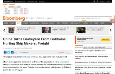 http://www.bloomberg.com/news/2013-04-03/china-turns-graveyard-from-goldmine-hurting-ship-makers-freight.html