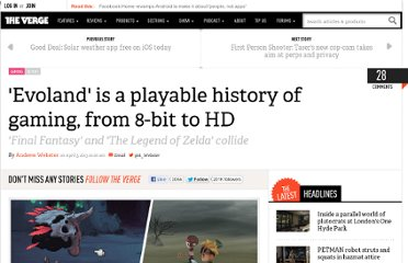 http://www.theverge.com/2013/4/5/4183062/evoland-is-a-playable-history-of-gaming-from-8-bit-to-hd