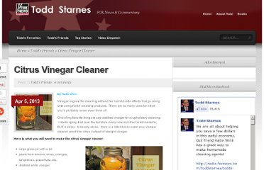 http://radio.foxnews.com/toddstarnes/todds-friends/citrus-vinegar-cleaner.html