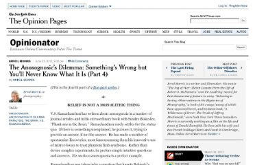 http://opinionator.blogs.nytimes.com/2010/06/23/the-anosognosics-dilemma-somethings-wrong-but-youll-never-know-what-it-is-part-4/