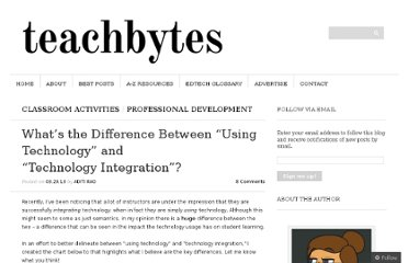 http://teachbytes.com/2013/03/29/whats-the-difference-between-using-technology-and-technology-integration/