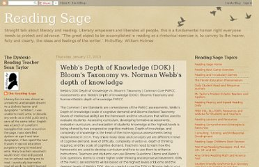 http://reading-sage.blogspot.com/2013/01/webbs-depth-of-knowledge-dok-blooms.html