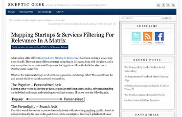 http://www.skepticgeek.com/socialweb/the-filtering-for-relevance-matrix-format/