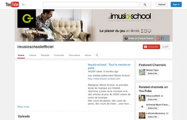 http://www.youtube.com/user/imusicschoolofficiel
