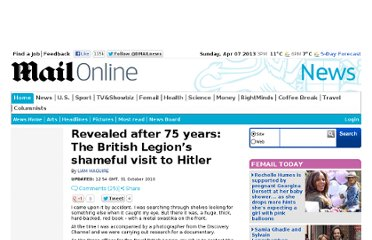 http://www.dailymail.co.uk/news/article-1325204/Royal-British-Legions-shameful-Hitler-visit-revealed-75-years.html