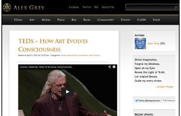 http://alexgrey.com/tedx-cosmic-creativity-how-art-evolves-consciousness/